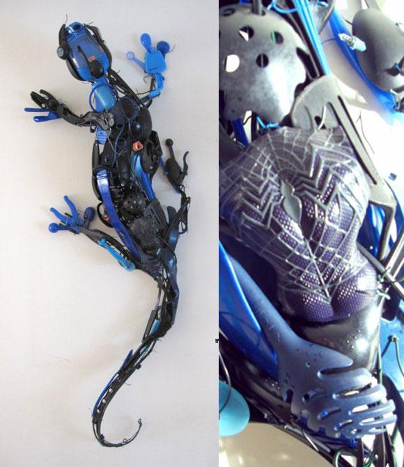 Sayaka Kajita Ganz, Sparkle - Blue Gecko - Geco Blu