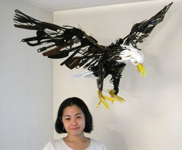 Sayaka Kajita Ganz, Wayne - Eagle - Aquila