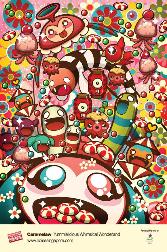 Sheena Aw - Caramelaw, YummyWhimsical Wonderland