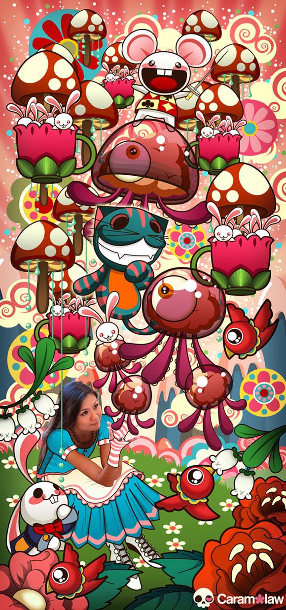 Sheena Aw - Caramelaw, Caramelaw in Wonderland