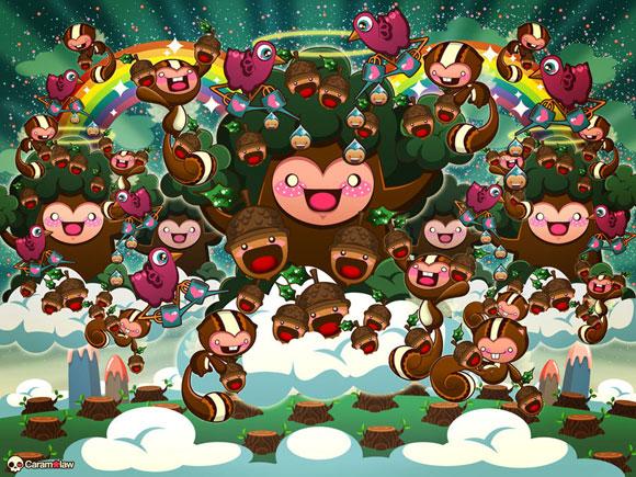 Sheena Aw - Caramelaw, Trees in Heaven