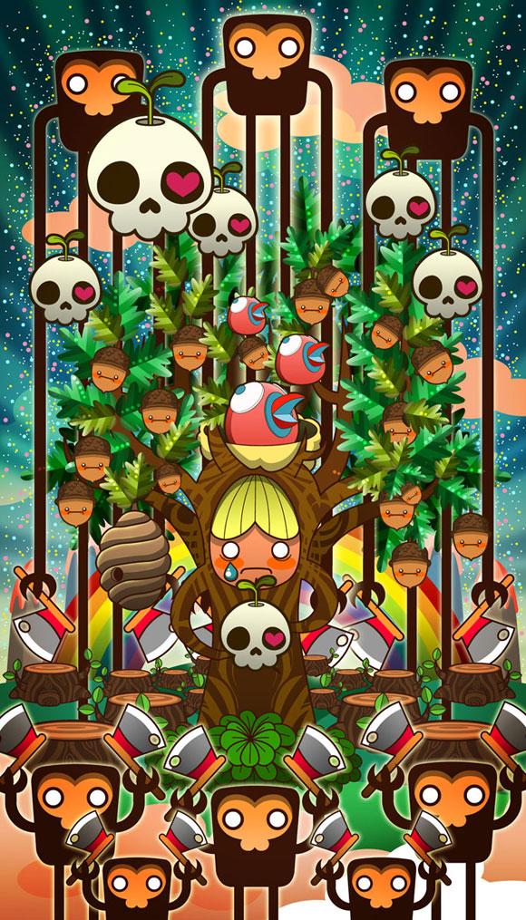 Sheena Aw - Caramelaw, I'm just a Tree