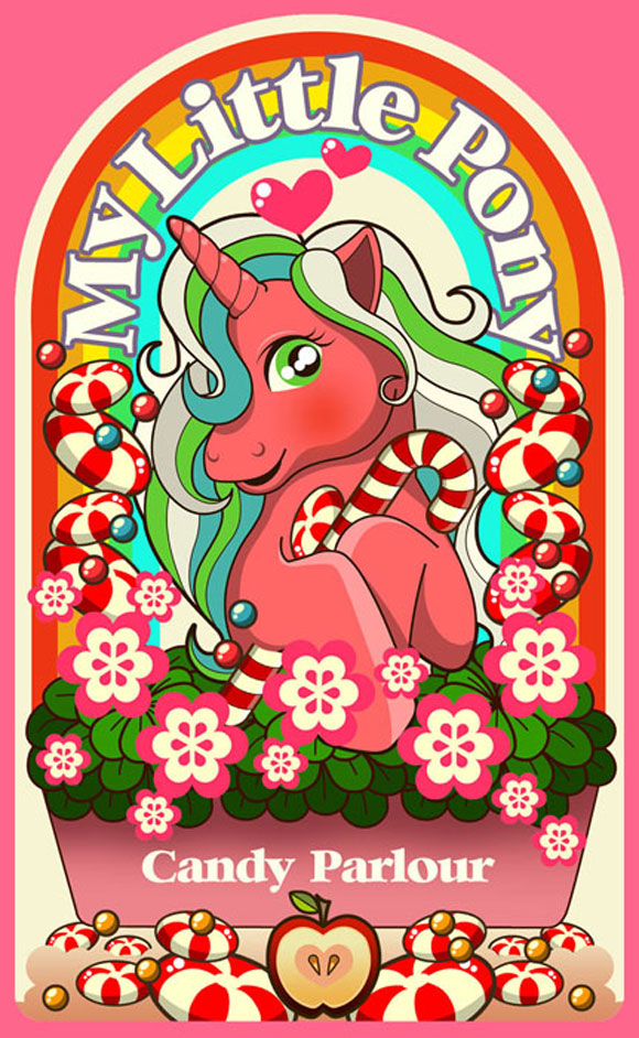 Sheena Aw - Caramelaw, Candy Parlour Sticker