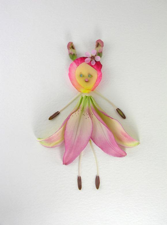 Elsa Mora - Flower Fairy, Fata dei Fiori, Miriam