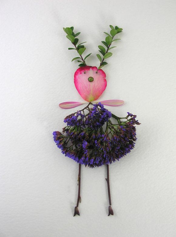 Elsa Mora - Flower Fairy, Fata dei Fiori, Marietta
