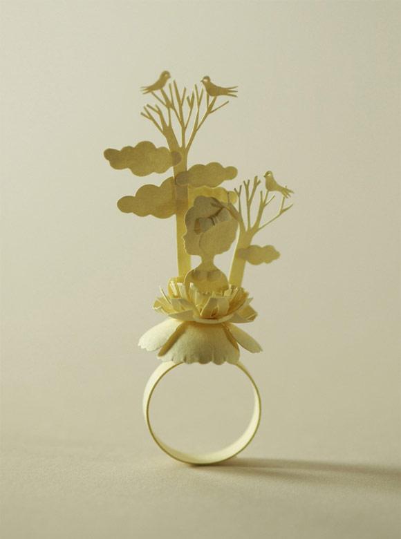 Elsa Mora - Paper Ring, Anello di Carta