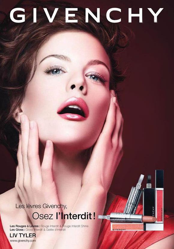 Givenchy Beauté, Le Prismissime Visage - Gloss Interdit - Lipgloss - Lucidalabbra - Liv Tyler