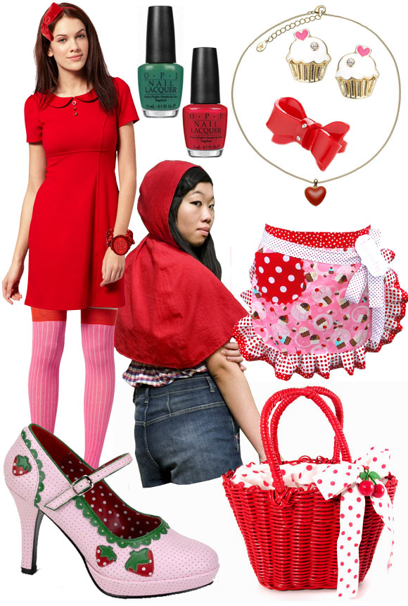 Little Red Riding Hood, Cappuccetto Rosso, look and outfit by non solo kawaii