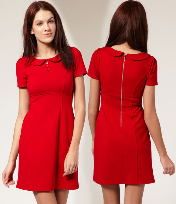 abito rosso da cappuccetto rosso, cute red Little Red Riding Hood dress
