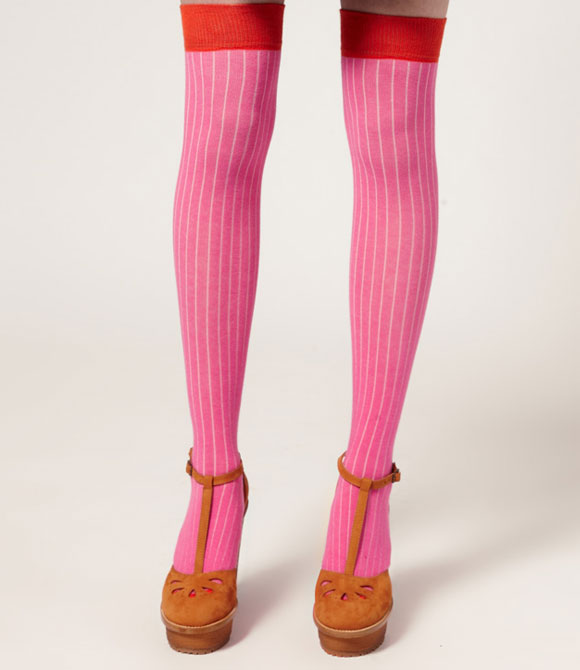 pink and red socks, calze rosa e rosse