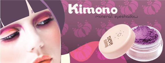 Neve Cosmetics - Kimono eyeshadow purple, ombretto viola