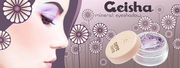 Neve Cosmetics - Geisha eyeshadow lilac, ombretto lilla