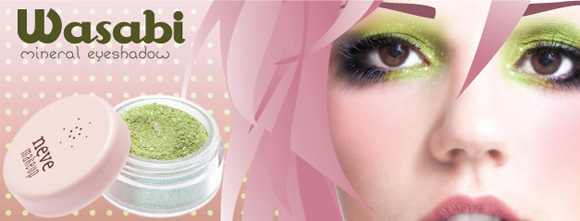 Neve Cosmetics - Wasabi eyeshadow green, ombretto verde
