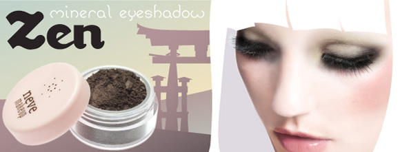 Neve Cosmetics - Kawaii Japan, Zen, brown, marrone