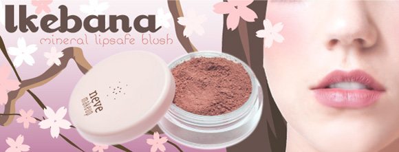 Neve Cosmetics - Kawaii Japan, Ikebana, blush rosa-beige