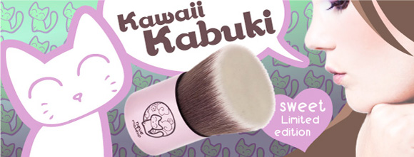 Neve Cosmetics - Kawaii Japan, Pennello Kawaii Kabuki, brush