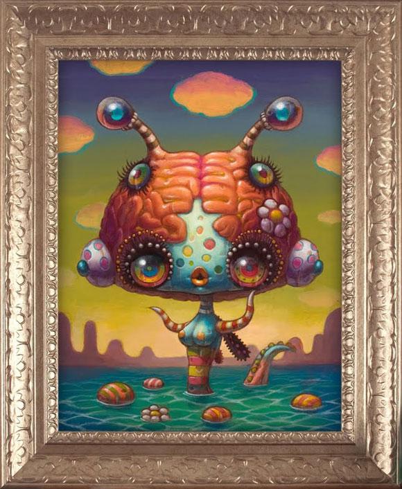 JYoko d'Holbachie - Memory Keeper - Cute and Colorful little Creature - Piccola creatura dolce e colorata