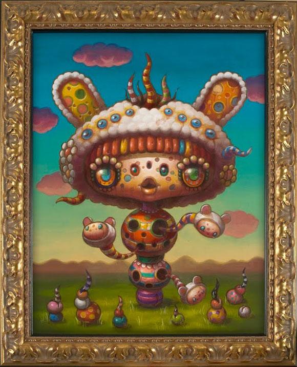 JYoko d'Holbachie - Germination - Cute and Colorful little Creature - Piccola creatura dolce e colorata