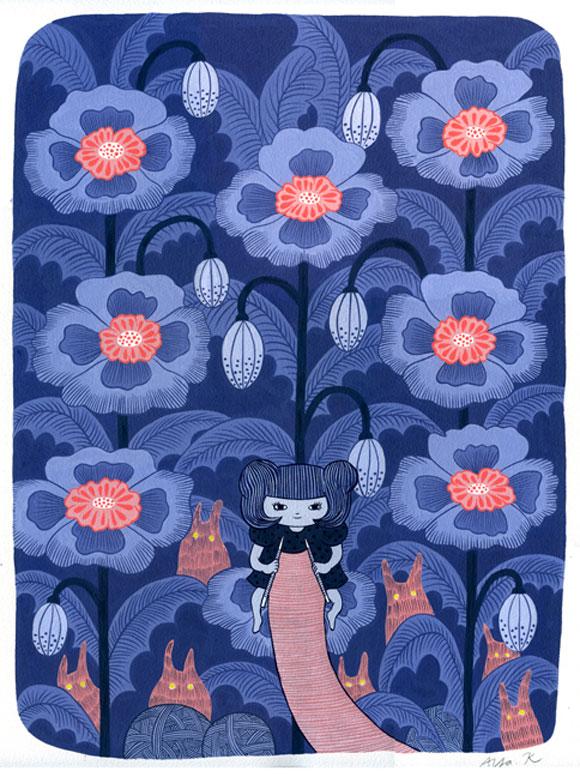 Aya Kakeda - Knitting Rabbits