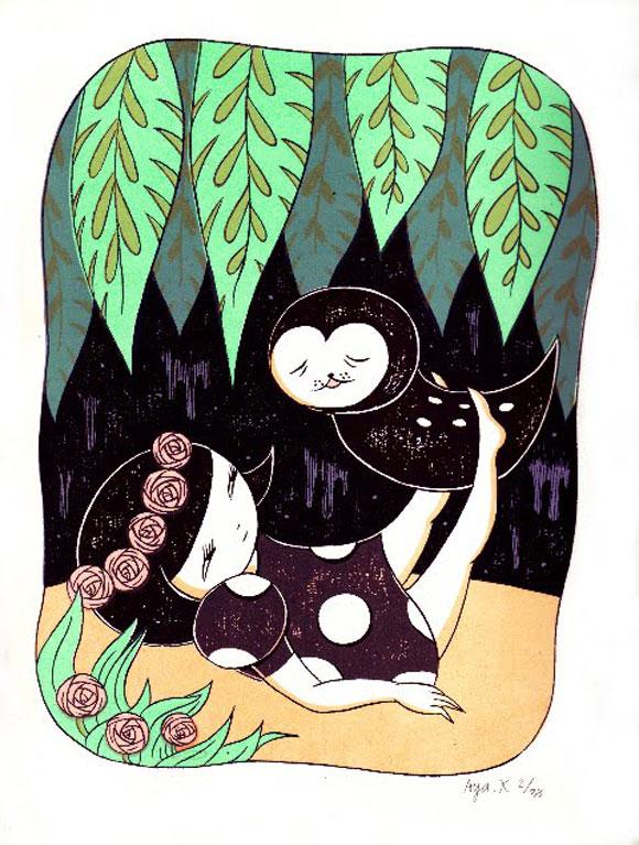 Aya Kakeda - Botanical Girl 1
