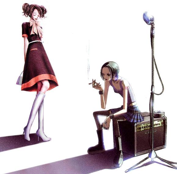 Ai Yazawa - manga Nana Komatsu and Nana Osaki