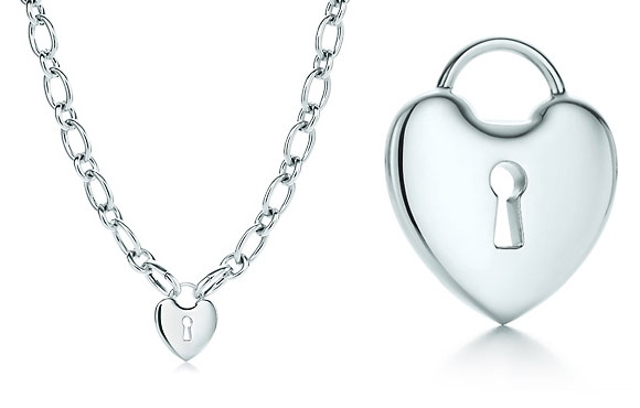 Tiffany - Locks Heart Lock Necklace, collana con lucchetto a cuore, Nana Osaki