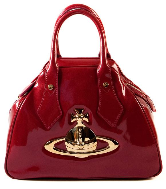 Vivienne Westwood - Ebury Bag 4690 Raspberry, borsa rossa, Nana Osaki