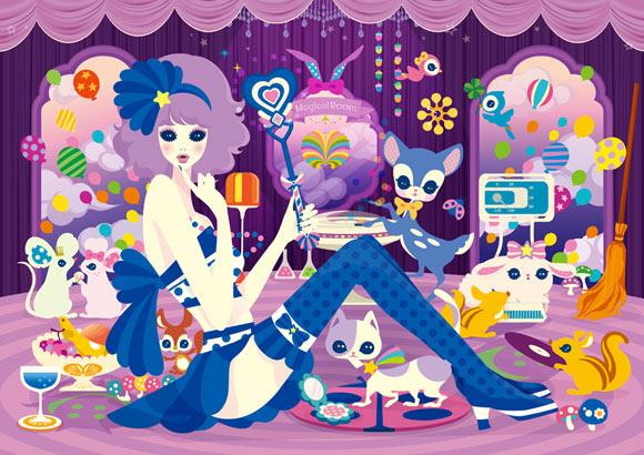 NICO, kawaii Magical Girls: Art Inspired by Shōjo Manga