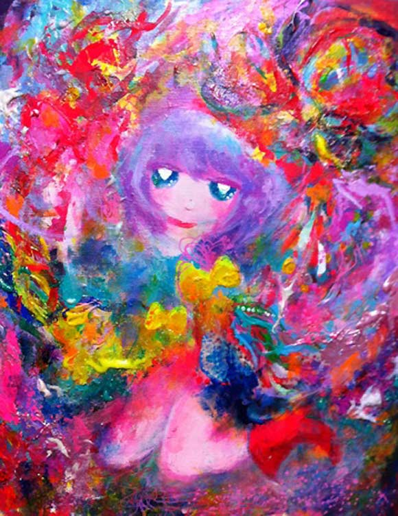 Chikuwaemil - Anime Vomit, Magical Girls: Art Inspired by Shōjo Manga