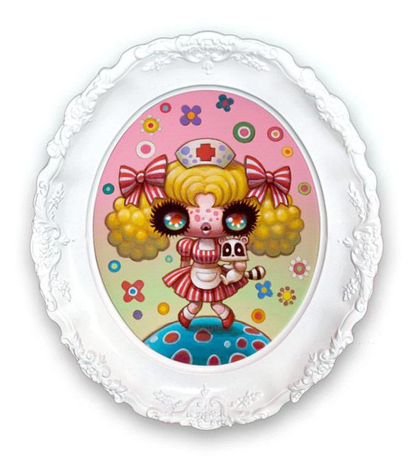 Yoko d'Holbachie - Candy Candy kawaii Magical Girls: Art Inspired by Shōjo Manga