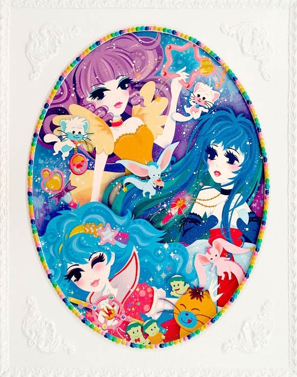 Miss Kika - Creamy Dreamy, with Creamy Mami, Fancy Lala and Magic Fairy Pelsia