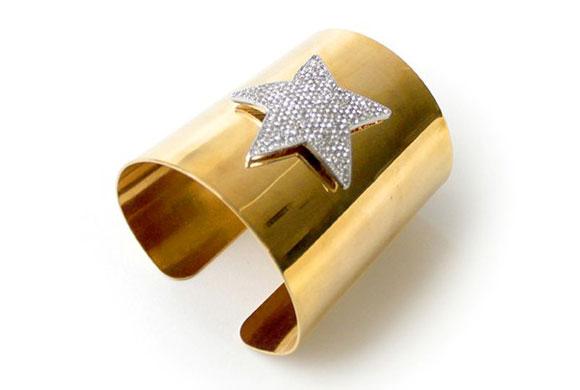 Noir Jewelry - Wonder Woman Cuff Bracelet - Polsiera Bracciale Wonder Woman - Swarovski