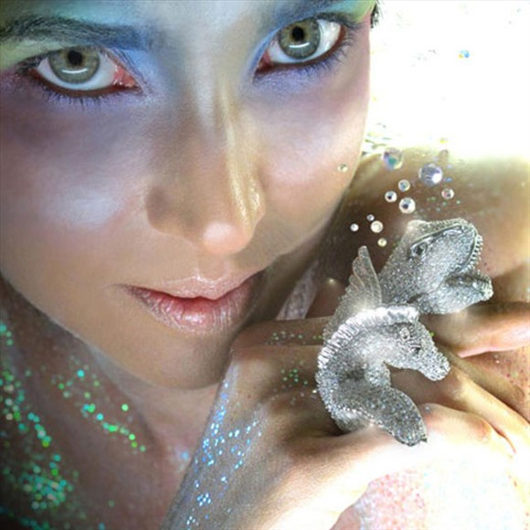 Noir Jewelry - Pegasus Ring, T-Rex Ring - Anello Pegaso e Anello T-Rex - Swarovski