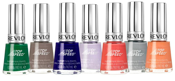 Revlon Nail Enamel Top Speed