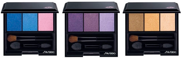 Shiseido - Luminizing Satin Eye Color Trio: Punky Blues, Bouquet, Voyage