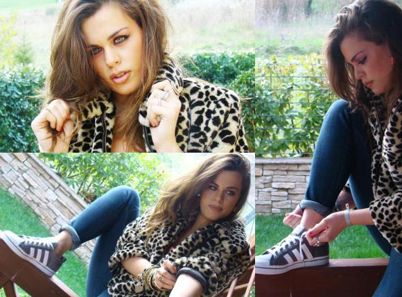 Caterina Felicetti è la testimonial di Adidas Originals: Are You My Honey?