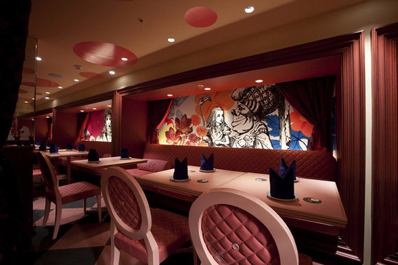 Alice of Magic World, Interior Design by Fantastic Design Works Co - Themed Bar, Restaurant - Bar Ristorante a Tema