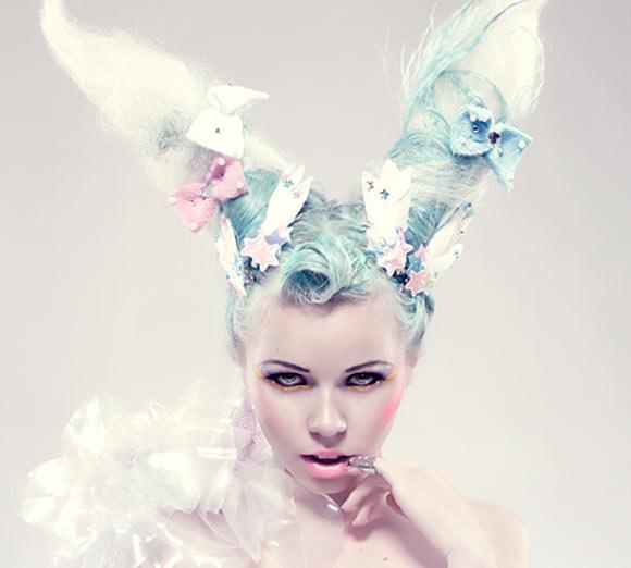Kerli bunny hair for kawaii Chubby Bunny