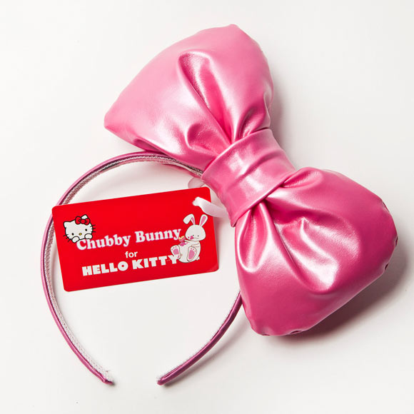 Chubby Bunny Hello Kitty Bow, cerchietto con fiocco kawaii e cute