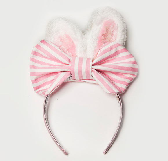 Chubby Bunny Bunnies and Bows Headband, cerchietto kawaii con orecchie da coniglio