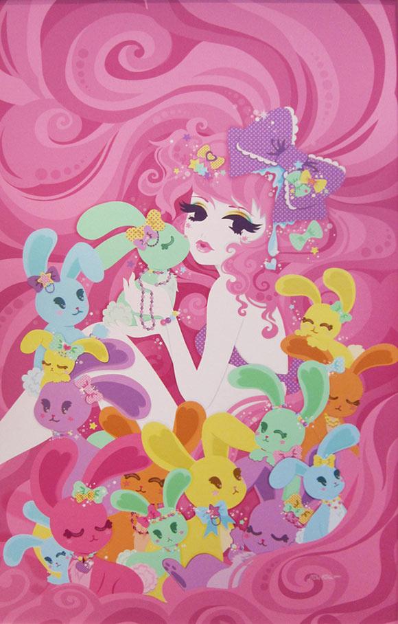 Miss Kika - Miss Gummi Bunni Foo Foo, Bunnies & Bows