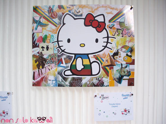 Yosuke Ueno, @Sanrio for Smiles, Hello Kitty colorful news