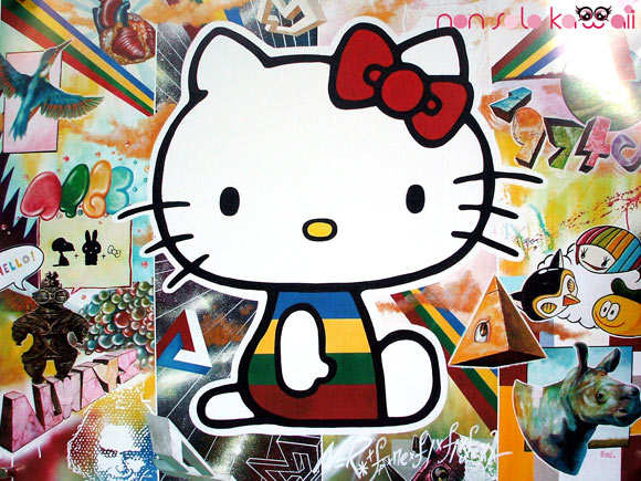 Yosuke Ueno , @Sanrio for Smiles, Hello Kitty colorful news