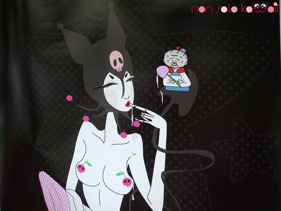 Japi Honoo - Kurumi Geisha, @Sanrio for Smiles, kuromi sexy