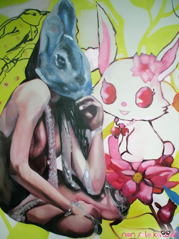 Natalie Pirotte, @Sanrio for Smiles, Bunny girl with Jewelpet - Coniglietta con Jewelpet