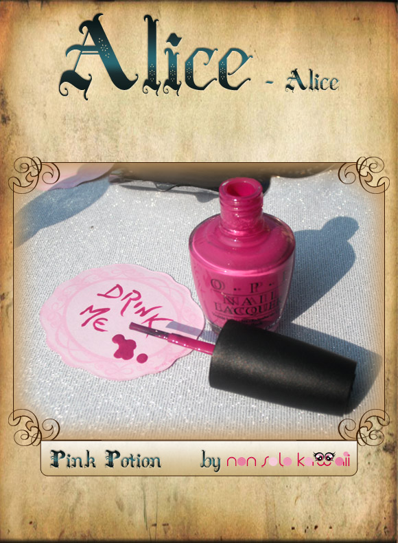 non solo Kawaii in Wonderland - Pink Potion