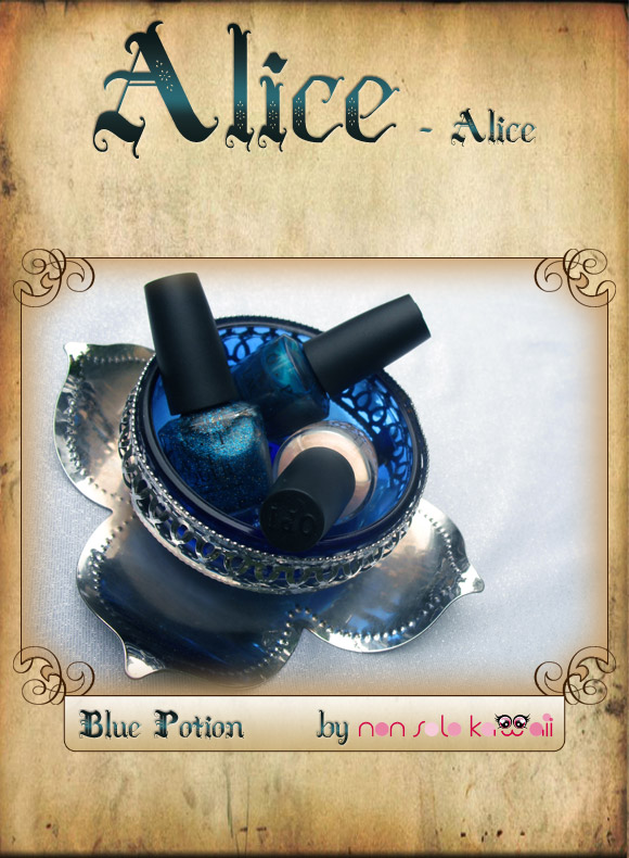 non solo Kawaii in Wonderland - Blue Potion