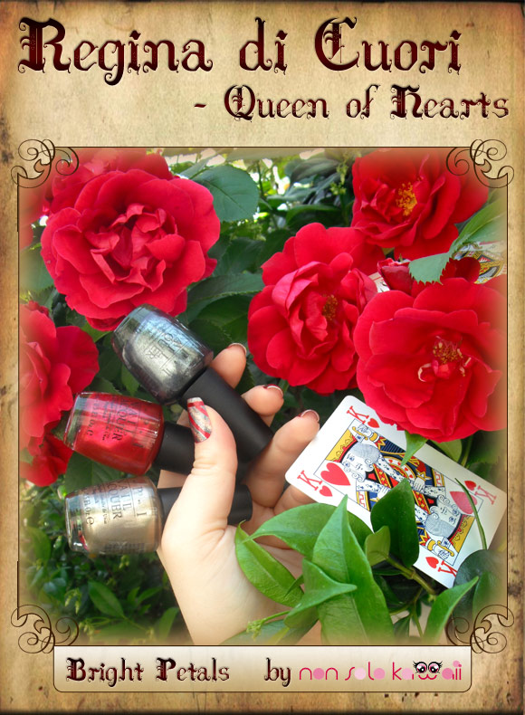 non solo Kawaii in Wonderland - Regina di Cuori / Queen of Hearts: Bright Petals