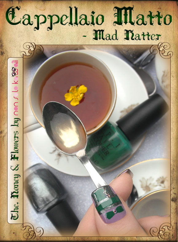 non solo Kawaii in Wonderland - Cappellaio Matto / Mad Hatter: The, Honey and Flowers