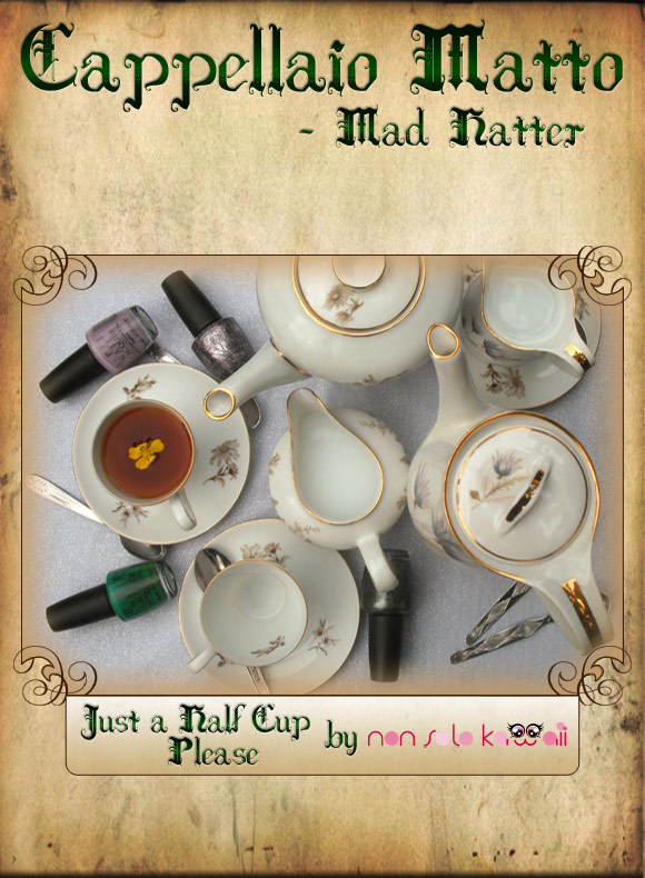 non solo Kawaii in Wonderland - Just a Half Cup Please